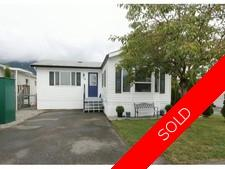Dewdney Deroche Manufactured home for sale:  3 bedroom 1,290 sq.ft. (Listed 2013-09-17)